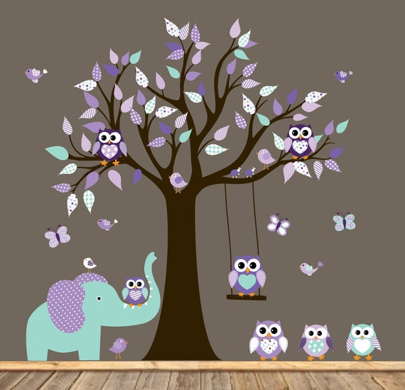Children Wall decals, Nursery Wall Decals,