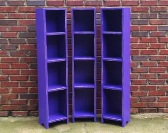 One Storage Tower  47 tall x 10 wide x 9 1/2 tall Farmhouse shabby bookcase