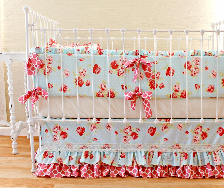 28 shabby chic crib bedding for girls shabby chenille crib