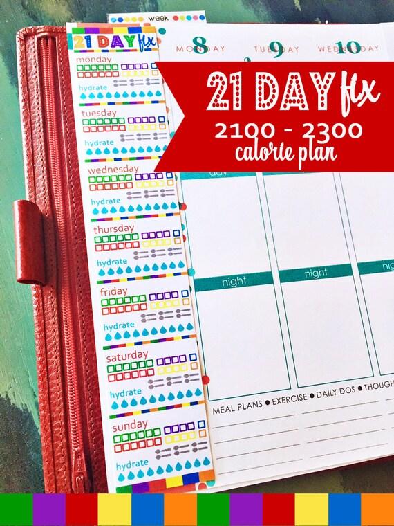 2300 calorie meal plan pdf
