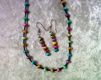 Multicolor Beaded Necklace (0394)
