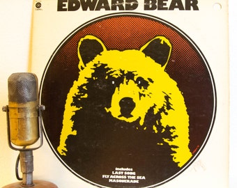 """ON SALE Edward Bear Vinyl Record Album Lp 1970s Canadian Pop Rock and Roll Band Toronto """"Edward Bear"""" (1973 Capitol re-issue w/""""Last Song"""")"""