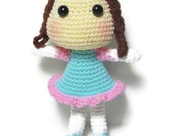 Baby Dolls for Toddlers - Play Doll - Crochet Dolls - Handmade Dolls - Childrens Toys - Baby Doll - Rag Doll - Dolls for Girls - Girls Dolls