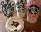 Personalized To Go Coffee Cup