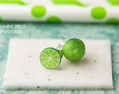 Zesty Lime - Post Earrings