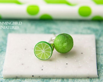 Zesty Lime - Post Earrings