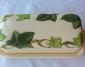 Franciscan Ivy Covered Butter Dish