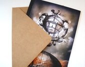Victorian Steampunk Air Ship Cards, Stationary