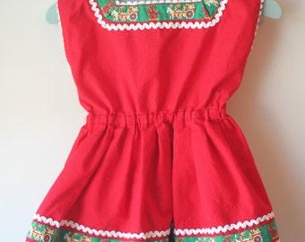 Vintage Child's Dress Made in Germany Vintage Toddler Dress Made in Germany Vintage German Dress
