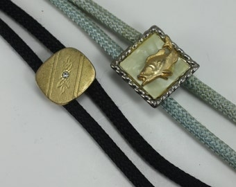 Vintage Western Bolo Ties Assortment - Lot of 2 Pieces