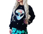 Custom Color Holographic Believer Sweatshirt