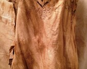 Cotton Apron Tunic Top Ruffle Magnolia Mori Prairie Pearl Lagen