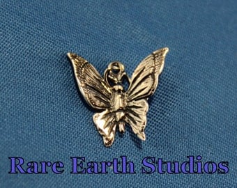 16x13 Sterling Silver Butterfly Charm 60415022