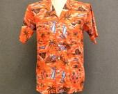1980s Mens Hawaiian Shirt
