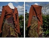 Custom listing for Kristi ~ Earth Elf Outfit ~ OAK ~ technodolly :)