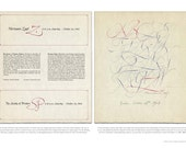 Hermann Zapf Calligraphy / Society of Printers Broadside