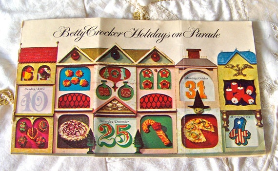 Vintage Betty Crockers Holidays On Parade 1965 By