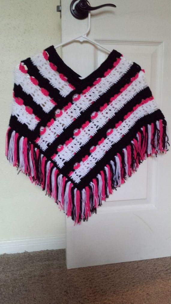 A Poncho Crochet Pattern