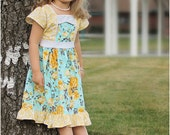 Primrose Dress Sewing Pattern: Girls Dress Sewing Pattern, Baby Dress Sewing Pattern