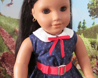 Summer Dress, Historical Dress, Sleeveless Dress, Doll Dress