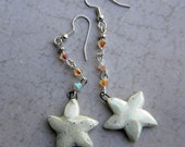 Star Earrings, Star Jewelry, Shooting Star Earrings,  Celestial Jewelry