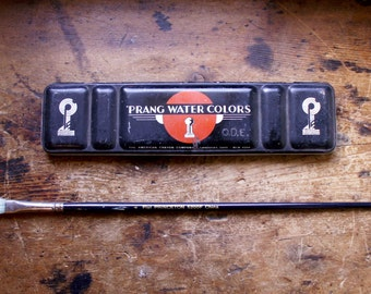 Vintage Prang Watercolor Paint Box
