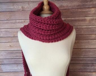 Crochet Scarf Pattern, Open Stitch Crochet Pattern, Box Scarf Pattern PDF Instant Download