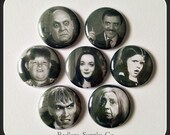 "The Addams Family 1"" Button Choose Your Own"