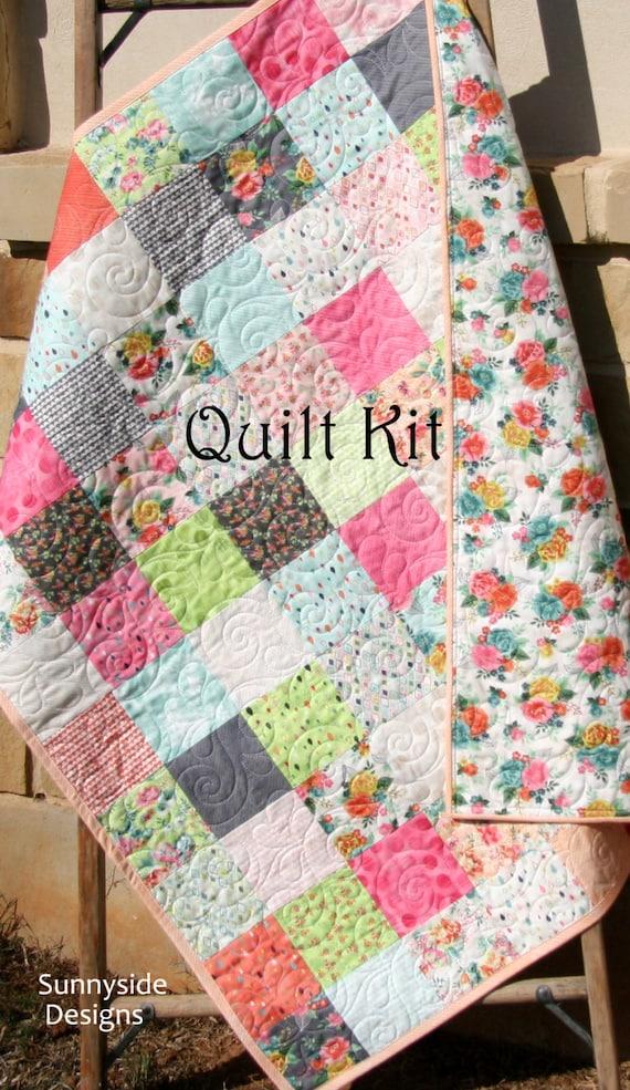 Do it yourself moda ideas de disenos ciboney baby girl quilt kit fresh cut by basic grey moda fabrics do it yourself moda solutioingenieria Images