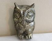 Owl Silver Owl Figurine