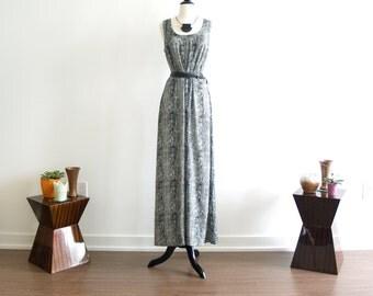 Rena Vintage Maxi Dress