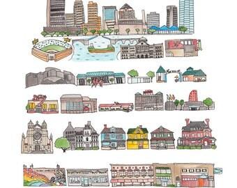 Toledo print
