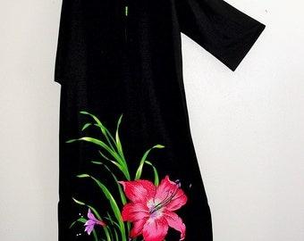 Sale 30% off  Hippie Maxi Tent Dress/ boho vintage dress