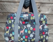 Nappy bag/Diaper bag/Changing bag PDF sewing pattern - by Sewing patterns by Mrs H