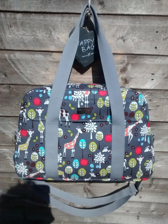 Nappy Bag/Diaper Bag/Changing Bag PDF Sewing Pattern By