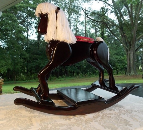 Handcrafted Wooden Rocking Horse Legacy Pony Edition