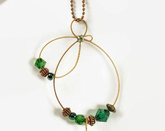 Recycled Guitar String Necklace