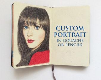 CUSTOM: Portrait Illustration