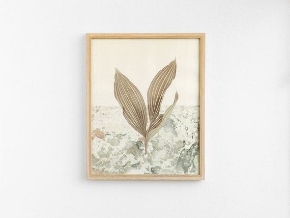 SALE -30%  Lily of the Marble Valley - poster - 40cm x 50cm LMV4050