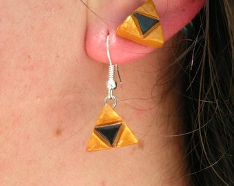 Legend of Zelda Triforce Earrings