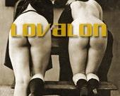 MATURE... Derriere Twins... Instant Digital Download... Vintage Erotic Photography... Vintage Nude Photo
