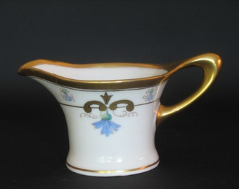 Art Nouveau Hand Painted Creamer by Pickard