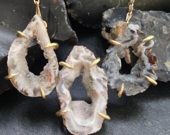 Sample - Sale - Oco Trio Necklace - Brass