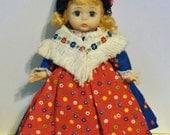 """vintage 8"""" Madame Alexander """"German"""" doll - bendable jointed knees - Germany"""