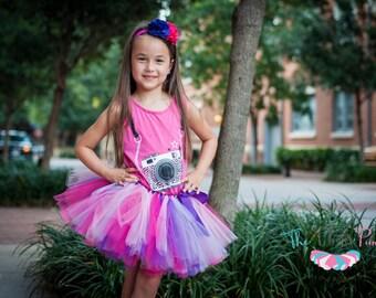 "Pink & purple tutu ""Persephonee"" girls tutu kids tutu children's tutu photo prop birthday tutu skirt size 5,6,7,8,10,12, hot pink lavender"