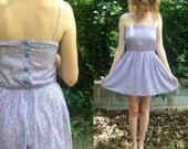 Maggy London floral babydoll dress