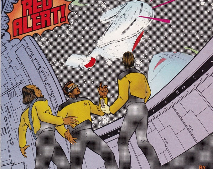 Vintage Star Trek The Next Generation #41 1992 DC Comics - Science Fiction - Vintage Comic - Star Trek - Next Generation - Sci-Fi