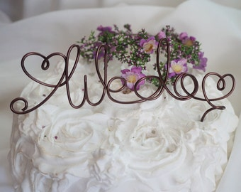 We Do Cake Topper, Custom Colors