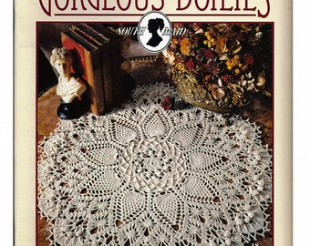 Absolutely Gorgeous Doilies Crochet Pattern Book  / Leisure Arts 2879