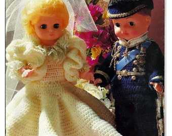 Desirable Dolls A Charming Crochet Collection Doll Crochet pattern book MM681